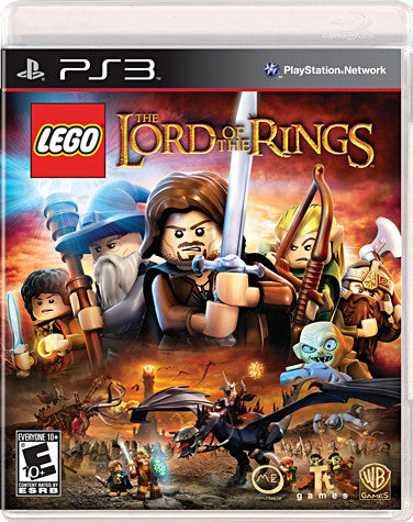 LEGO The Lord of the Rings (Bilingual) (PLAYSTATION3) PLAYSTATION3 Game