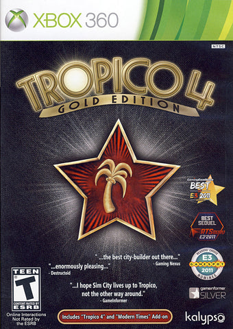 Tropico 4 (Gold Edition) (XBOX360) XBOX360 Game