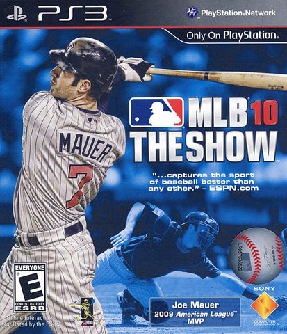 MLB 10 - The Show (PLAYSTATION3) PLAYSTATION3 Game
