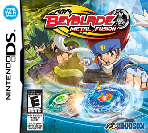 Beyblade - Metal Fusion (Game Only) (Trilingual Cover) (DS) DS Game
