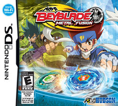 Beyblade - Metal Fusion (Game Only) (Trilingual Cover) (DS)