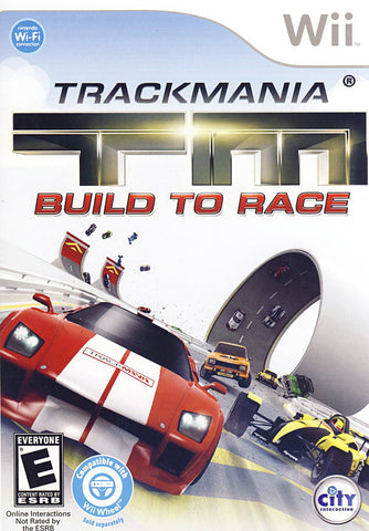 TrackMania Turbo - Build to Race (NINTENDO WII) NINTENDO WII Game