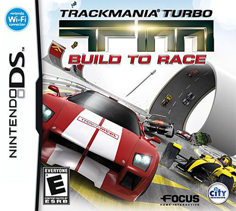 TrackMania Turbo - Build to Race (DS) DS Game