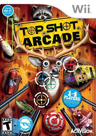 Top Shot Arcade (NINTENDO WII) NINTENDO WII Game