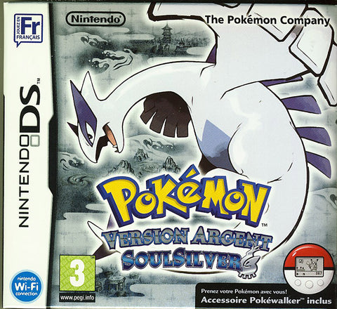 Pokemon SoulSilver Version (French Version Only) (DS) DS Game