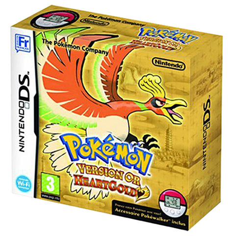 Pokemon HeartGold Version (French Version Only) (DS) DS Game