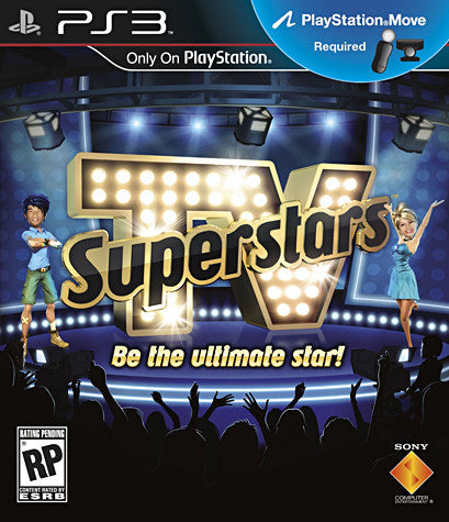 TV Superstars (Playstation Move) (PLAYSTATION3) PLAYSTATION3 Game