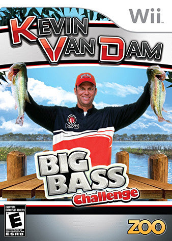 Kevin VanDam s - Big Bass Challenge (Game Only) (Bilingual Cover) (NINTENDO WII) NINTENDO WII Game