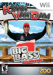Kevin VanDam s - Big Bass Challenge (Game Only) (Bilingual Cover) (NINTENDO WII)