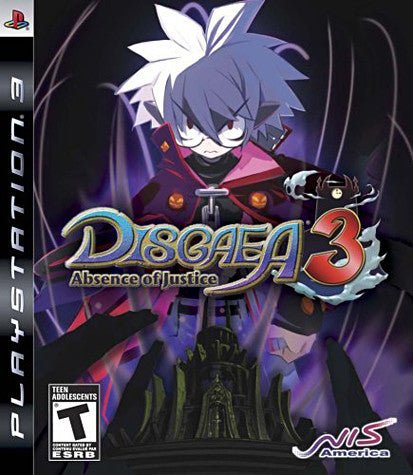 Disgaea 3 - Absence Of Justice (PLAYSTATION3) PLAYSTATION3 Game