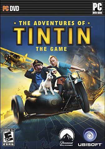 The Adventures of Tintin - The Game (PC) PC Game