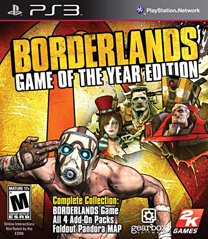 Borderlands - Game of the Year Edition (PLAYSTATION3) PLAYSTATION3 Game