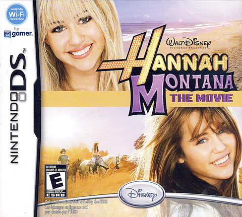 Hannah Montana - The Movie (DS) DS Game