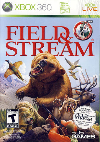 Field And Stream - Outdoorsman Challenge (Bilingual Cover) (XBOX360) XBOX360 Game