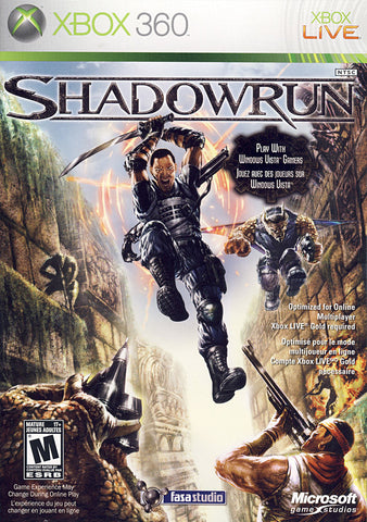 Shadowrun (Bilingual Cover) (XBOX360) XBOX360 Game