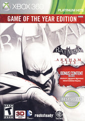 Batman - Arkham City (Game Of The Year) (XBOX360)