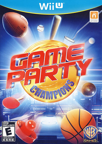 Game Party - Champions (NINTENDO WII U) NINTENDO WII U Game