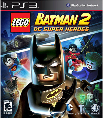 LEGO Batman 2 - DC Super Heroes (PLAYSTATION3) PLAYSTATION3 Game