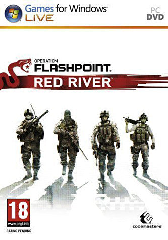 Operation Flashpoint - Red River (European) (PC) PC Game