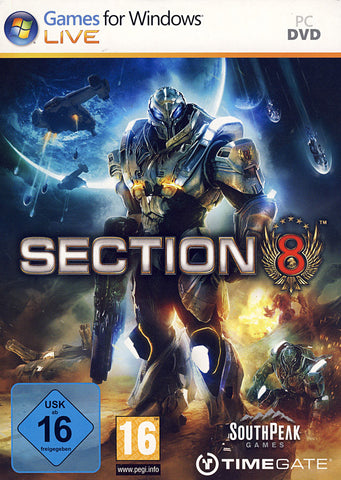 Section 8 (European) (PC) PC Game