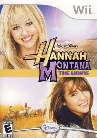 Hannah Montana - The Movie (NINTENDO WII) NINTENDO WII Game