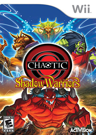 Chaotic - Shadow Warriors (With Exclusive Irsenog Chaotic Trading Card) (NINTENDO WII) NINTENDO WII Game