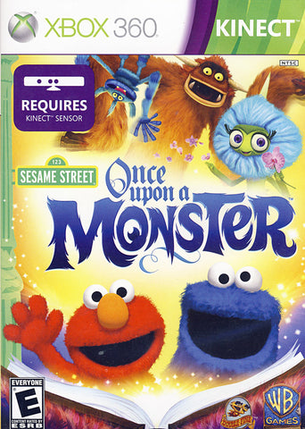 Sesame Street - Once Upon A Monster (Kinect) (XBOX360) XBOX360 Game