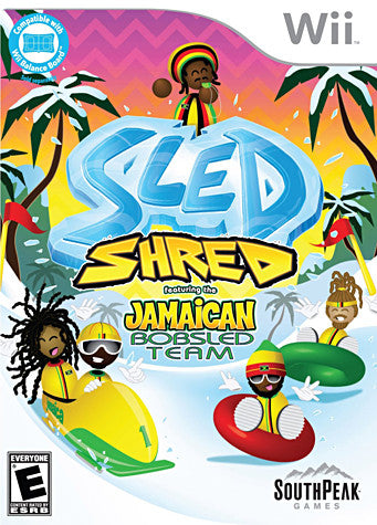 Sled - Shred (NINTENDO WII) NINTENDO WII Game