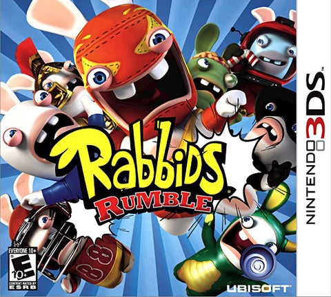 Rabbids Rumble (Trilingual Cover) (3DS) 3DS Game