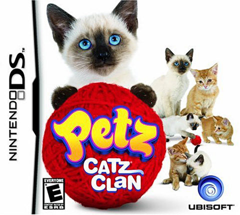 Petz Catz Clan (DS) DS Game