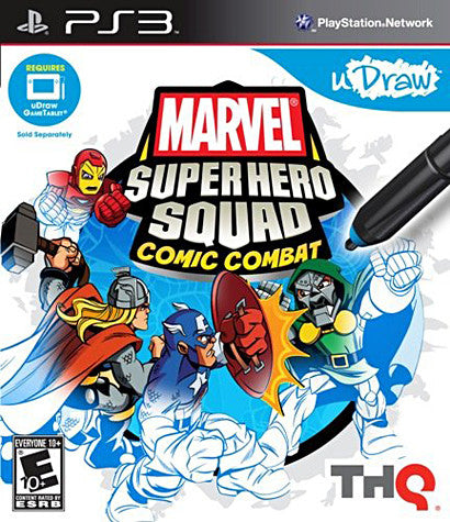 Marvel Super Hero Squad - Comic Combat (uDraw) (PLAYSTATION3) PLAYSTATION3 Game