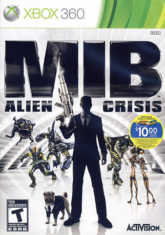 Men In Black - Alien Crisis (Bilingual Cover) (XBOX360) XBOX360 Game