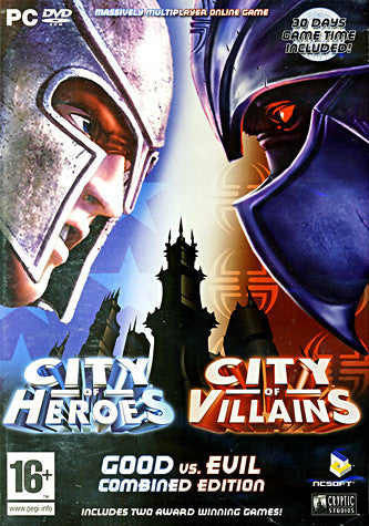City of Heroes And City of Villains (Combined Edition) (European) (PC) PC Game