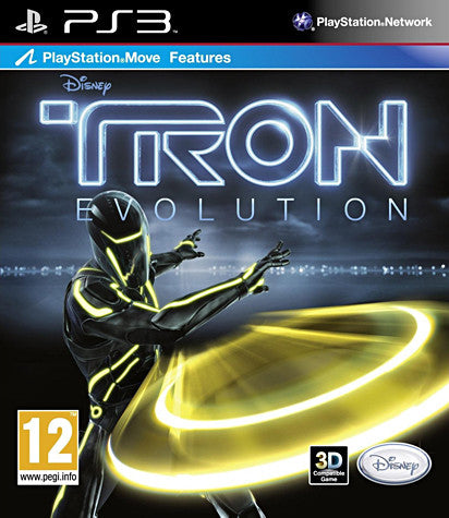 TRON - Evolution (Playstation Move) (European) (PLAYSTATION3) PLAYSTATION3 Game