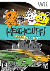 Heathcliff - The Fast and the Furriest (Bilingual Cover) (NINTENDO WII)