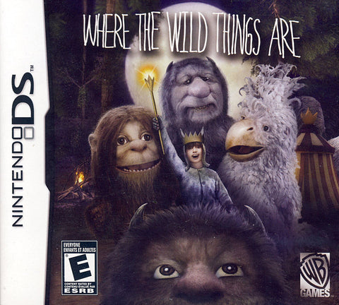 Where The Wild Things Are (DS) DS Game