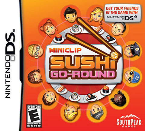 Miniclip Sushi Go Round (DS) DS Game