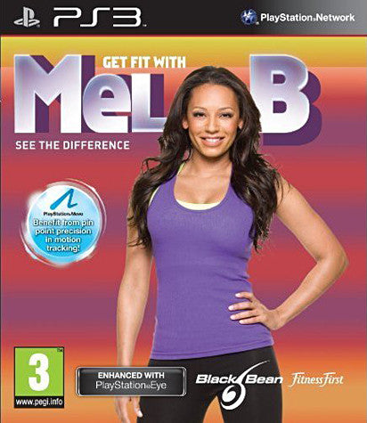 Get Fit With Mel B (Playstation Move) (French Version Only) (PLAYSTATION3) PLAYSTATION3 Game