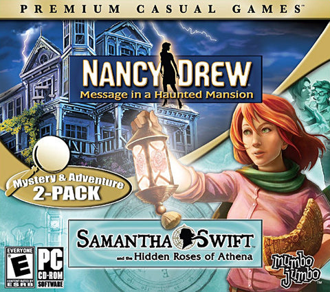 Nancy Drew - Haunted Mansion & Samantha Swift Hidden Roses Of Athena (Jewel Case) (PC) PC Game