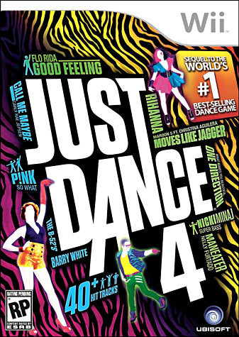 Just Dance 4 (NINTENDO WII) NINTENDO WII Game