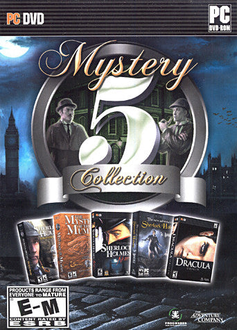 Mystery 5 Collection (PC) PC Game