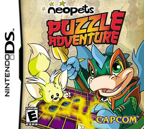Neopets - Puzzle Adventure (Bilingual Cover) (DS) DS Game