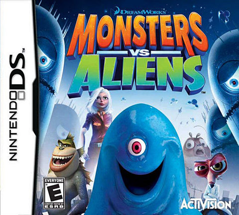Monsters VS Aliens (DS) DS Game