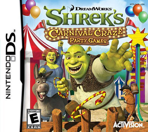 Shrek - Carnival Craze Party Games (DS) DS Game