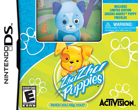 Zhu Zhu Puppies with Zhu Zhu Puppy Toy (Bundle) (Bilingual Cover) (DS) DS Game