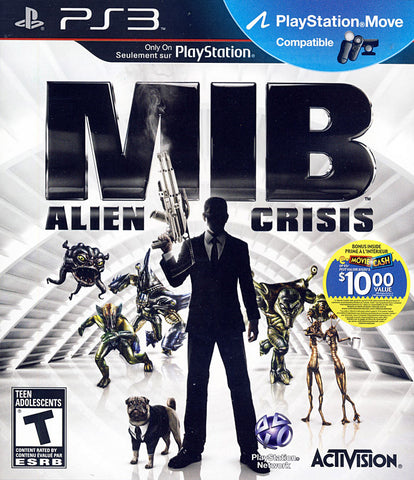 Men In Black - Alien Crisis (PLAYSTATION3) PLAYSTATION3 Game