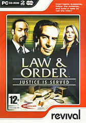 Law And Order - Justice is Served (European) (PC)