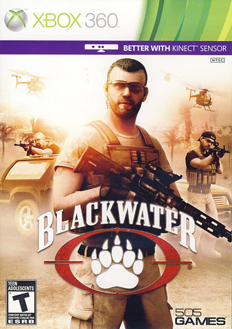 Blackwater (Kinect) (Bilingual Cover) (XBOX360) XBOX360 Game