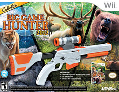 Cabela's Big Game Hunter 2012 with Top Shot Elite (Bundle) (NINTENDO WII)
