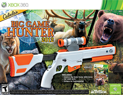 Cabela's Big Game Hunter 2012 with Top Shot Elite (Bundle) (XBOX360) XBOX360 Game